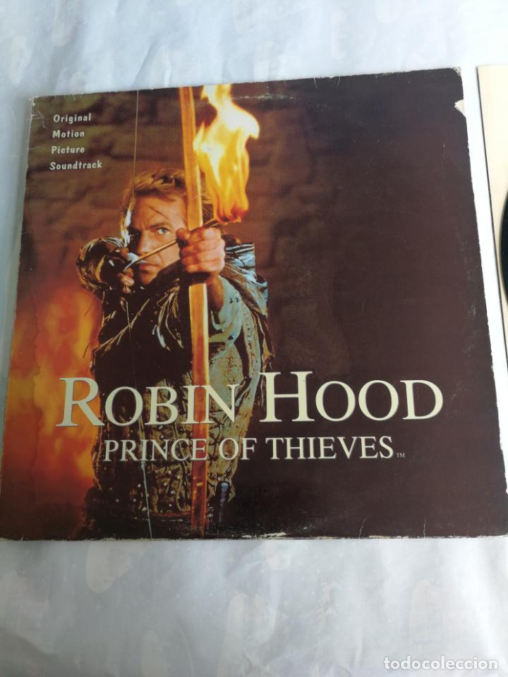 ROBIN HOOD PRINCE OF THIEVES - LP POLYDOR 1991 SPAIN BANDA SONORA (Música - Discos - LP Vinilo - Bandas Sonoras y Música de Actores )