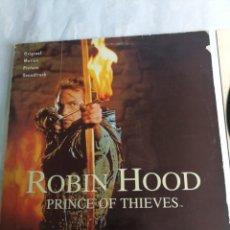 Discos de vinilo: ROBIN HOOD PRINCE OF THIEVES - LP POLYDOR 1991 SPAIN BANDA SONORA. Lote 206249727