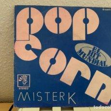 """Discos de vinilo: MISTER K – POP CORN. SINGLE VINILO 7"""". ESTADO VG/VG.1972. ENTREGA 24H. Lote 206250257"""