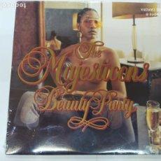 Discos de vinilo: DOBLE LP DISCO VINILO THE MAJESTICONS BEAUTY PARTY NUEVO SIN DESPRECINTAR. Lote 206252163
