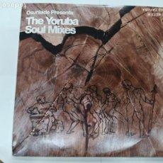 Discos de vinilo: TRIPLE LP DISCO VINILO THE YORUBA SOUL MIXES. Lote 206252476