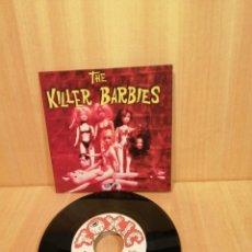 Discos de vinilo: THE KILLER BARBIES. I WANNA LIVE IN TROMAVILLE, LOVE KILLER.. Lote 206253288