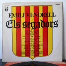Discos de vinilo: EMILI VENDRELL. ELS SEGADORS. EMI ODEON. 1976. Lote 206253682
