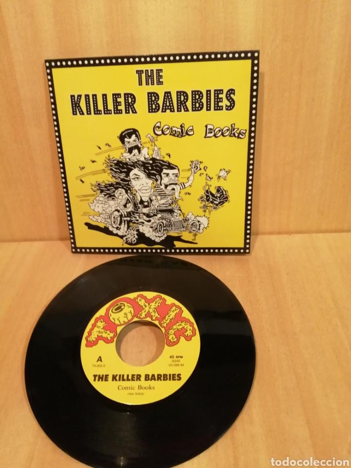 THE KILLER BARBIES. COMIC BOOKS. (Música - Discos - Singles Vinilo - Punk - Hard Core)