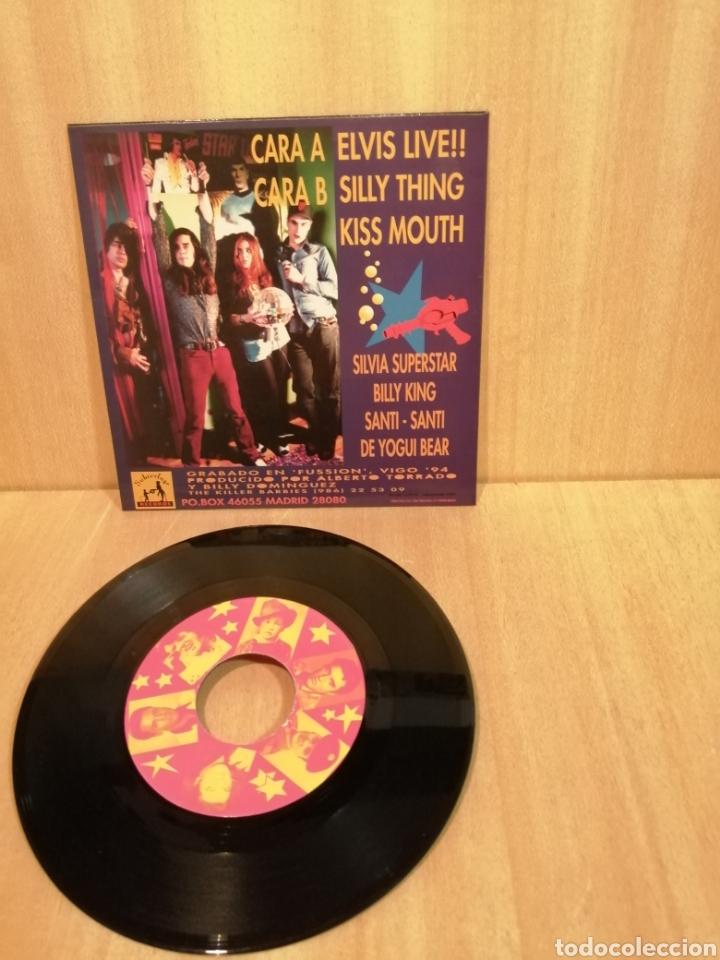 Discos de vinilo: The Killer Barbies. Elvis Live!! EP. - Foto 2 - 206255076