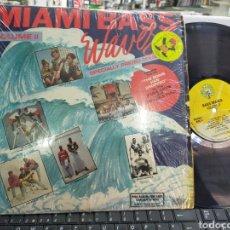 Discos de vinilo: MIAMI BASS WAVES VOL.II DOBLE LP U.S.A. 1989. Lote 206256055