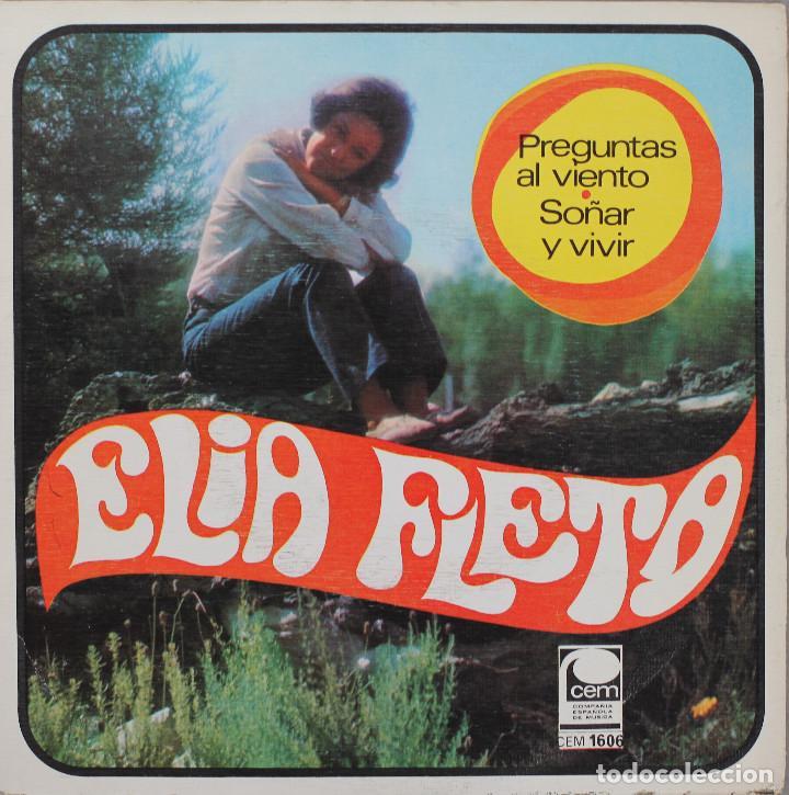 ELIA FLETA// PREGUNTAS AL VIENTO// SINGLE// 1968// CEM (Música - Discos - Singles Vinilo - Solistas Españoles de los 50 y 60)