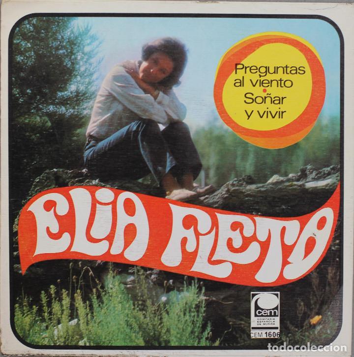 Discos de vinilo: ELIA FLETA// PREGUNTAS AL VIENTO// SINGLE// 1968// CEM - Foto 2 - 206256346