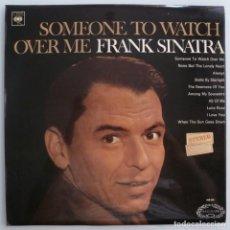 Discos de vinilo: FRANK SINATRA - SOMEONE TO WATCH OVER ME (LP CBS-HALLMARK UK). Lote 206260657
