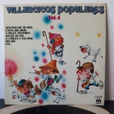 Discos de vinilo: VILLANCICOS POPULARES. VOL. 4. MUSICOX. 1981. Lote 206263575