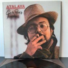 Discos de vinilo: GATO PEREZ. ALTAYA. EMI. 1981. ESPAÑA.. Lote 206266742