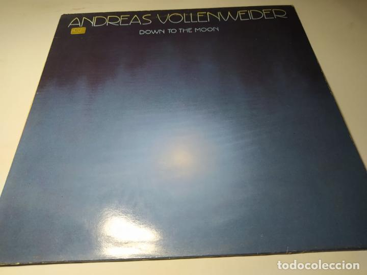 LP- ANDREAS VOLLENWEIDER – DOWN TO THE MOON - S 57001 ( VG+ / VG+) SPAIN 1987 (Música - Discos - LP Vinilo - Electrónica, Avantgarde y Experimental)