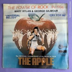Discos de vinilo: SINGLE THE POWER OF ROCK ... IN 1994 MARY HYLAN & GEORGE GILMOUR... UNIVERSAL MELODY VG++. Lote 206273268