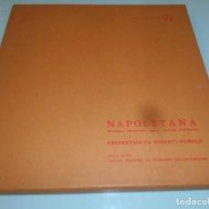 Discos de vinilo: CAJA CON 4 LP´S NAPOLETANA - ANTOLOGÍA CRONOLÓGICA CAZONE PARTENOPEA - ROBERTO MUROLLO. Lote 206273377