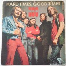 Discos de vinilo: ZOO SINGLE VINILO HARD TIMES, GOOD TIMES RIVIERA EDICIÓN ITALIANA. Lote 206275051