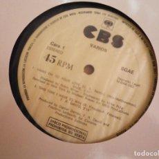 Discos de vinilo: MECANO HAWAII BOMBAY / MIGUEL BOSE LENTO / SADE / F.R. DAVIS MAXI SINGLE VINILO PROMO CBS 1985. Lote 206275390