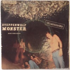Discos de vinilo: STEPPENWOLF - MONSTER - BERRY RIDES AGAIN SINGLE VINILO EDICIÓN ESPAÑOLA. Lote 206276246