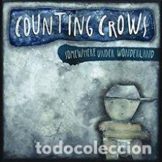 Discos de vinilo: LP COUNTING CROWS SOMEWHERE UNDER WONDERLAND NUEVO PRECINTADO. Lote 206276921