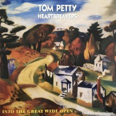 Discos de vinilo: LP TOM PETTY AND THE HEARTBREAKERS INTO THE GREAT WIDE OPEN 180 GRS + DESCARGA NUEVO PRECINTADO. Lote 206277710
