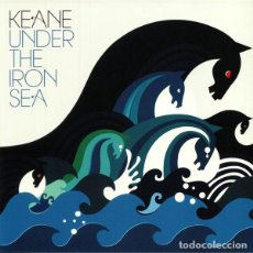 Discos de vinilo: LP KEANE UNDER THE IRON SEA 180 GRS NUEVO PRECINTADO. Lote 206277975