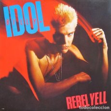 Discos de vinilo: LP BILLY IDOL ‎ REBEL YELL 180 GRS + DESCARGA NUEVO PRECINTADO. Lote 206278111