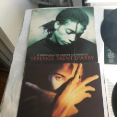 Discos de vinil: LOTE 2 LP TERENCE TRENT D'ARBY - INTRODUCING THE HARDLINE ACCORDING TO Y NEITHER FIS NOR FLESH SPAIN. Lote 206279158