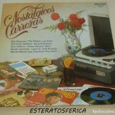 Discos de vinilo: NOSTALGICOS CARROZAS / 1981 BELTER 9-02.001 PROMO SIREX DINAMICO PLATTERS MINA CAROSONE GUARDIOLA. Lote 206279560