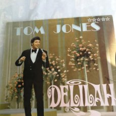 Discos de vinilo: LP TOM JONES DELILAH 1965 EDICION GERMANY DECCA. Lote 206279906