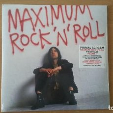 Discos de vinilo: 2 LP PRIMAL SCREAM MAXIMUM ROCK N ROLL SINGLES VOL.1 SONY 2019 PRECINTADO. Lote 206286998