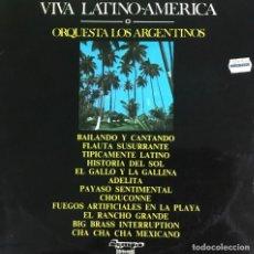Discos de vinilo: VIVA LATINOAMERICA - ORQUESTA LOS ARGENTINOS. Lote 206288248