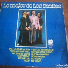 Discos de vinilo: THE BEATLES - LO MEJOR DE **** RARO LP ESPAÑOL 1974. Lote 206291188