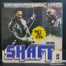 Discos de vinilo: ISAAC HAYES SINGLE SHAFT 1971. Lote 206293693