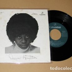 Discos de vinilo: DONNA HIGHTOWER - THIS WORLD TODAY IS A MESS - SINGLE - 1972. Lote 206297745