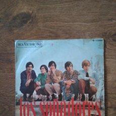 Discos de vinilo: LOS SOÑADORES - SIN SABER POR QUÉ 1968 RCA - KILLER GARAGE FREAKBEAT - ALGO SALVAJE!. Lote 206298416