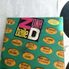 Discos de vinilo: VV.AA. - ZONA D BAILE - LP DOBLE EMI SPAIN 1991 - VANILLA ICE, PET SHOP BOYS, KLF. Lote 206298661
