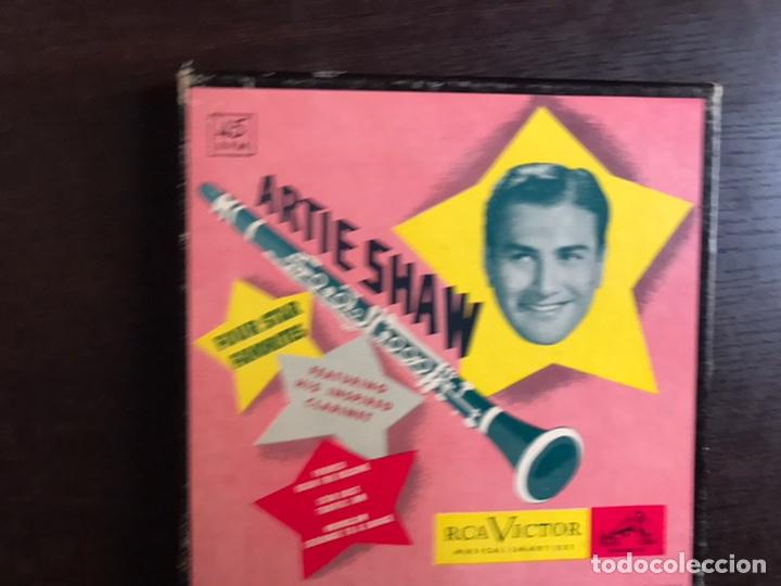 ARTIE SHAW. RCA VICTOR. BOX (Música - Discos - Singles Vinilo - Orquestas)