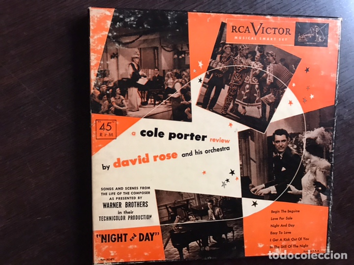 COLE PORTER REVIEW BY DAVID ROSE. BOX (Música - Discos - Singles Vinilo - Orquestas)