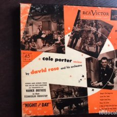 Discos de vinilo: COLE PORTER REVIEW BY DAVID ROSE. BOX. Lote 206298813