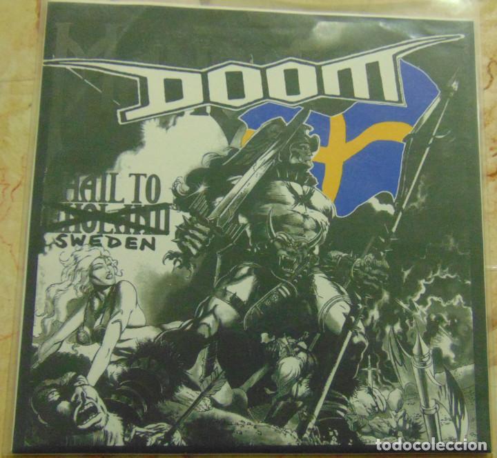 DOOM – HAIL TO SWEDEN - EP 1994 (Música - Discos - Singles Vinilo - Punk - Hard Core)