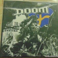 Discos de vinilo: DOOM – HAIL TO SWEDEN - EP 1994. Lote 206300290
