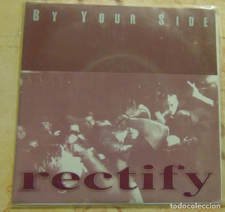 RECTIFY – BY YOUR SIDE - SINGLE HARDCORE PUNK 1996 (Música - Discos - Singles Vinilo - Punk - Hard Core)