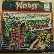 Discos de vinilo: THE WORST – CREEPY THING - EP 1992. Lote 206300493