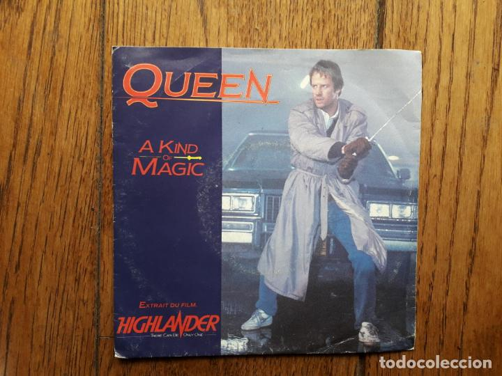 Queen - a kind of magic + a dozen red roses for my lady segunda mano