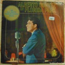 Discos de vinilo: ALBERTO CORTEZ – ALBERTO CORTEZ EN FLORIDA PARK - EP 1963. Lote 206300777