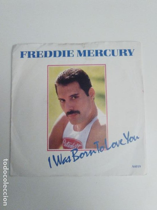 Usado, FREDDIE MERCURY I was born to love you / Stop all the fighting ( 1985 CBS UK ) QUEEN segunda mano