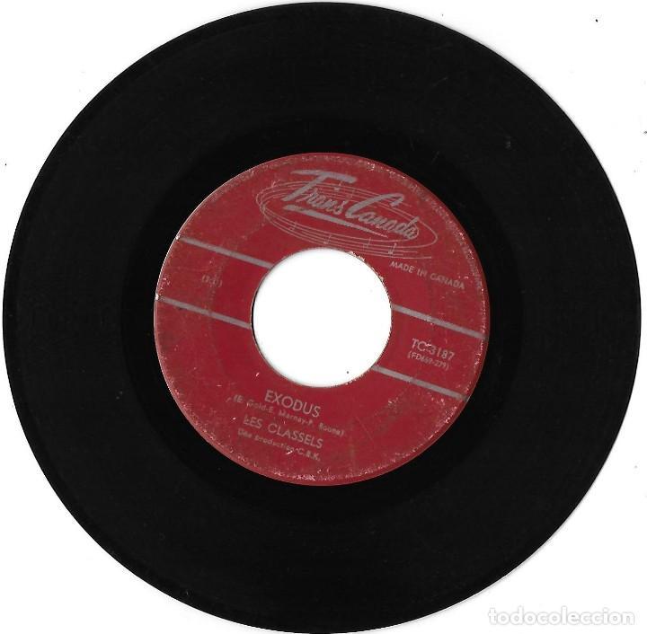 CLASSELS, LES: EXODUS / LANA. EXCELENTE POP CANADÁ (Música - Discos - Singles Vinilo - Pop - Rock Extranjero de los 50 y 60)