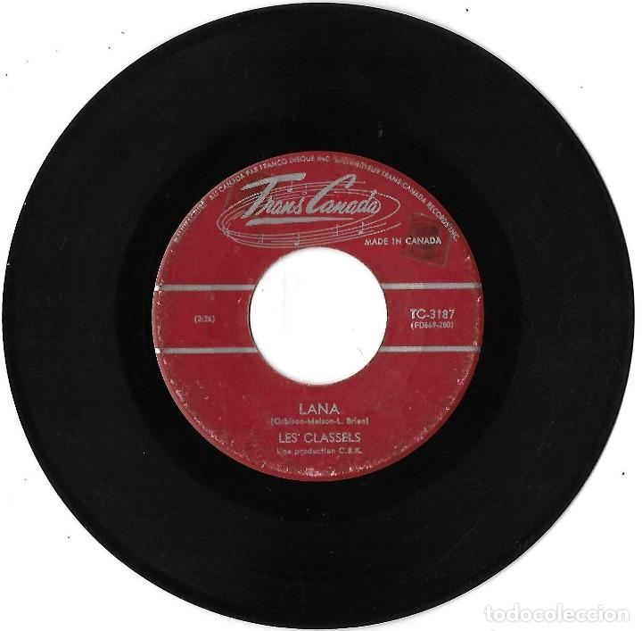 Discos de vinilo: CLASSELS, LES: EXODUS / LANA. EXCELENTE POP CANADÁ - Foto 2 - 206306006