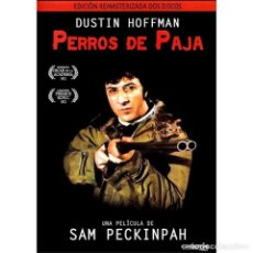 Discos de vinilo: PERROS DE PAJA -EDICION DE LUJO DOS DVD Y LIBRETO 1971 DE SAM PECKINPAH DUSTIN HOFFMAN. Lote 206306176