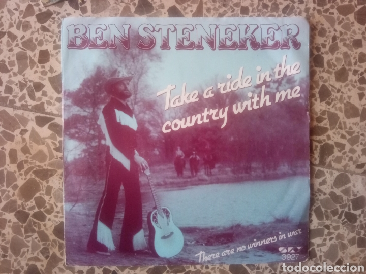 BEN STENEKER. TAKE A RIDE IN THE COUNTRY WITH ME. RAREZA (Música - Discos - Singles Vinilo - Country y Folk)