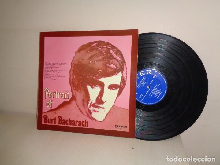 POTRAIT OF BACHARACH-ORQUESTA FRED FORSTER -BELTER - MADRID- 1971- (Música - Discos - LP Vinilo - Canción Francesa e Italiana)
